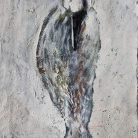 Snow Raven, 85.5 cm x 54 cm, oil on canvas, SOLD