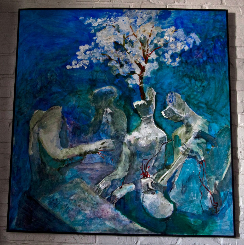 Musicians, 2013, 155 cm x 145 cm, oil on canvas
